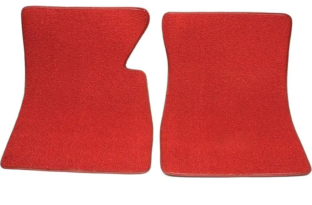 CFMAX1CH9078 Black Nylon Carpet Coverking Custom Fit Front Floor Mats for Select Chevrolet Models
