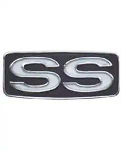 El Camino Steering Wheel Horn Button Emblem, SS, 1969
