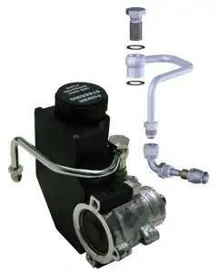 El Camino Power Steering Pump Hardline Kit, For Type II Pumps With Intergral Reservoir, 1959-1987