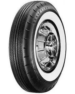 "El Camino Tire, 8.00/14 With 2-1/4"" Wide Whitewall, Goodyear, 1959-1960"