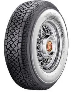 "Chevy Radial Tire, 205/75-R14 With 2-3/4"" Wide Whitewall, Goodyear, 1957"