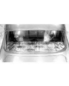 Chevy Package Tray Insulation, Dynamat Extreme, 1955-1957