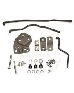 Chevy Muncie 4-Speed Shifter Installation Kit, With Studs, Hurst Competition Plus, 1955-1957