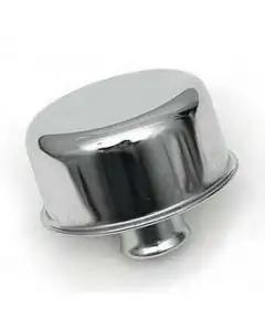 Chevy Engine Oil Breather Cap, Chrome, Push-In, 1955-1957