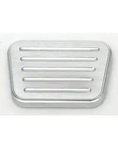 Chevy Brake, Clutch Pedal Cover, Without Rubber Inserts, Lokar, 1955-1957