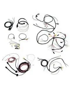 Chevy Wiring Harness Kit, V8, Automatic Transmission, SmallBlock, With Generator, 2-Door Hardtop, 1955
