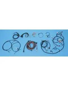 Chevy Alternator Conversion Wiring Harness Kit, For Cars With Automatic Transmission, 2-Door Hardtop, V8, 1955