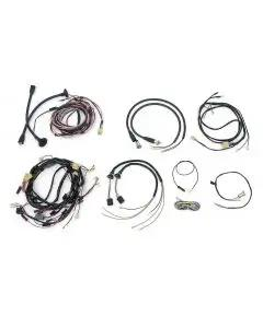 Chevy Wiring Harness Kit, V8, Manual Transmission, With Alternator, 2-Door Hardtop, 1955