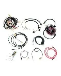 Chevy Wiring Harness Kit, Automatic Transmission, With Generator, Small Block, Convertible, 1955
