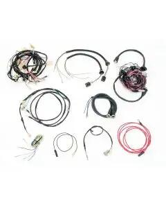 Chevy Wiring Harness Kit, Manual Transmission, With Generator, Small Block, Convertible, 1955