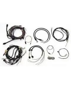Chevy Wiring Harness Kit, V8, Automatic Transmission, With Alternator, Convertible, 1955
