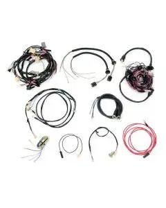 Chevy Alternator Conversion Wiring Harness Kit, With ManualTransmission, V8, Convertible, 1955