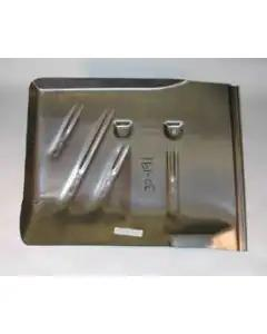 Chevy Floor Pan, Left, Rear, 1955-1957