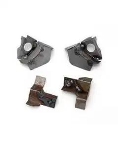 Chevy Lower Cowl To Front Fender Mounting Brackets, 1956