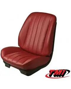 Chevelle TMI Sport Bucket Seat Covers & Foam, Coupe Or Convertible, 1966
