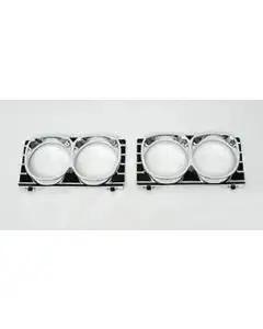 Full Size Chevy Headlight Bezel Set, 1967
