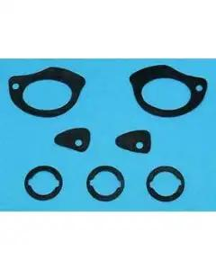 Full Size Chevy Door Handle & Door Lock & Trunk Lock Gaskets, 1958