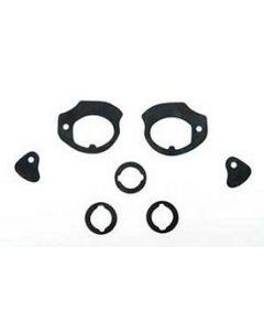 Full Size Chevy Door Handle & Door Lock & Trunk Lock Gaskets, 1959
