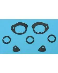 Full Size Chevy Door Handle & Door Lock & Trunk Lock Gaskets, 1961-1962