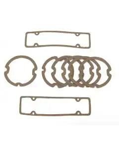 Full Size Chevy Parking Light & Taillight Lens Gasket Set, 1961