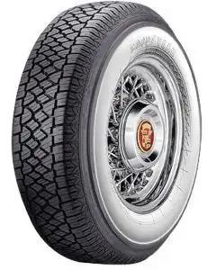 "Full Size Chevy Radial Tire, 205/75-R14 With 2-3/4"" Wide Whitewall, Goodyear, 1958-1961"