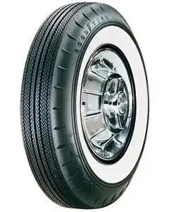 """Full Size Chevy Tire, 7.50/14 With 2-1/4"""" Wide Whitewall, Goodyear, 1958-1961"""