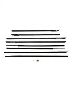 Full Size Chevy Window Felt Kit, 4-Door Hardtop, Bel Air, 1961-1962