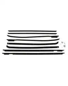 Full Size Chevy Window Felt Kit, 4-Door Hardtop, Impala, 1969-1970