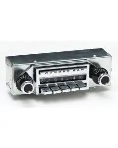 1958 Full Size Chevy Radio, Wonderbar, AM & FM Stereo w/Bluetooth