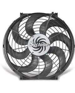 1964-1972 GM A Body  Cooling Fan, Electric, Universal, Single, 2500 CFM, S-Blade, Syclone, Flex-a-lite