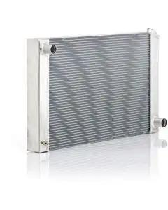 """Chevelle Radiator, Small Block Or Big Block, For Cars With Manual Transmission & Without Air Conditioning, """"Eliminator"""", Be Cool, 1968-1972"""