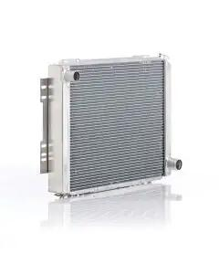 """Chevelle Radiator, Small Block, For Cars With Manual Transmission, """"Eliminator"""", Be Cool, 1966-1967"""