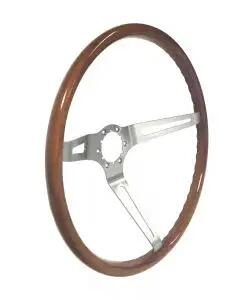 1968-70 Nova Corso Feroce LT-15 Hardwood Steering Wheel