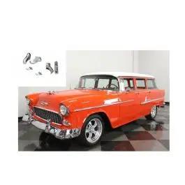 /'57 Chevy Passenger Car Front Bumper Accessory Guards