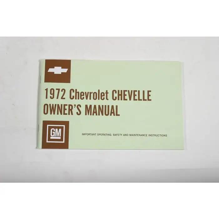 1983 CHEVROLET EL CAMINO Owners Manual User Guide