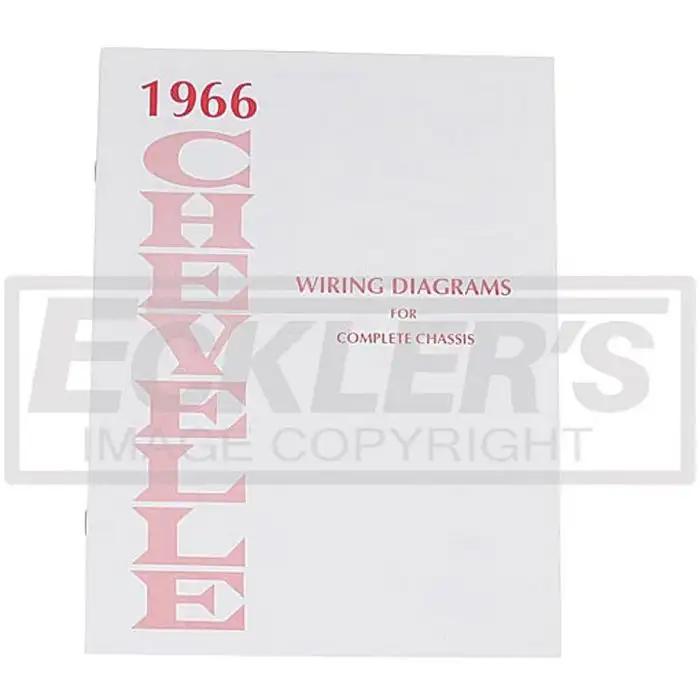 El Camino Wiring Diagram Manual 1966