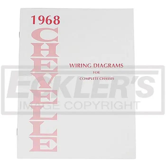 el camino wiring diagram manual 1968