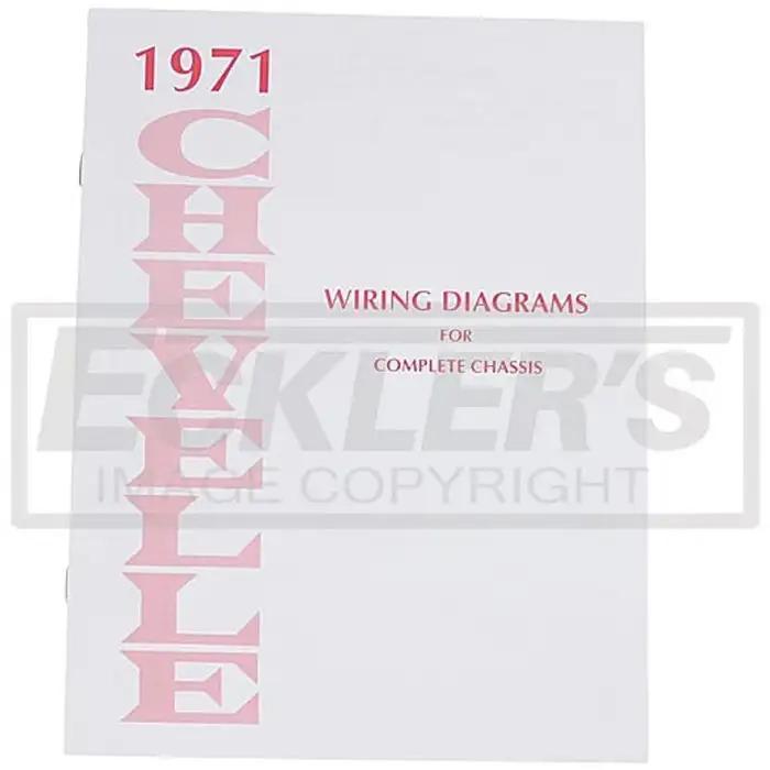 El Camino Wiring Diagram Manual 1971