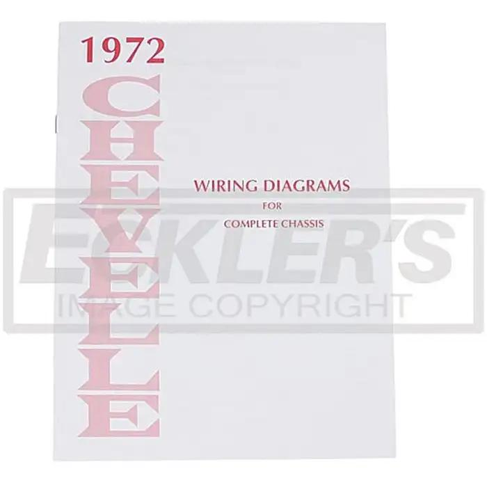El Camino Wiring Diagram Manual 1972