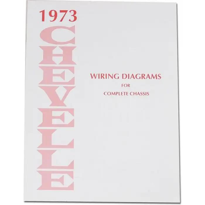El Camino Wiring Diagram Manual, 1973