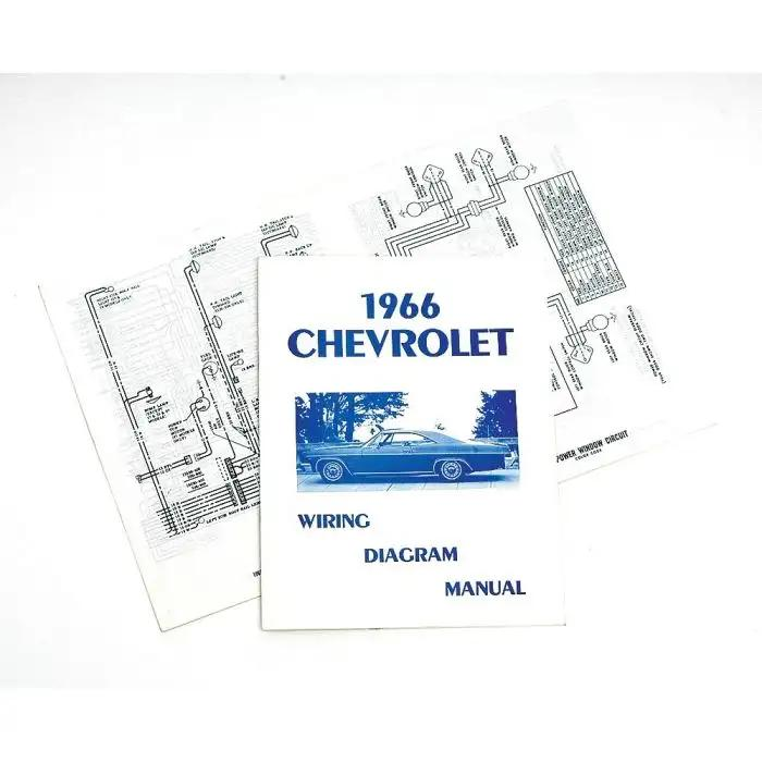 full size chevy wiring harness diagram manual 1966