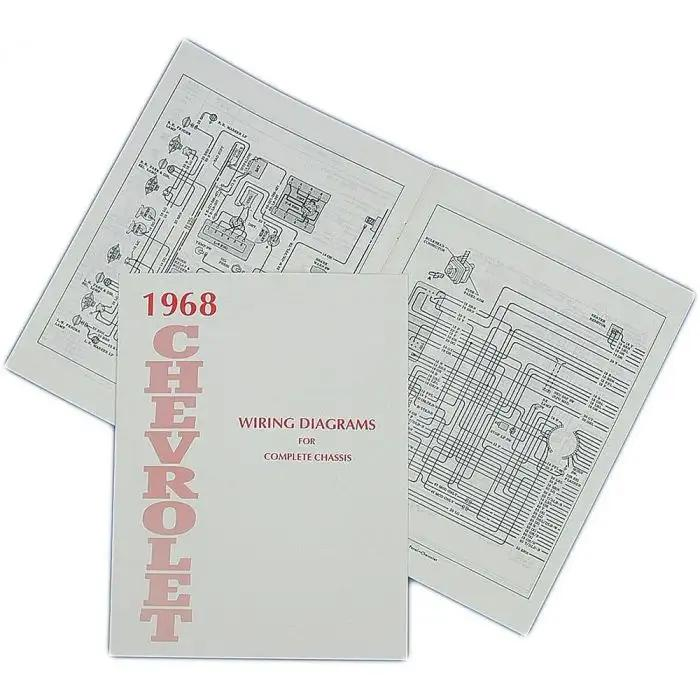 full size chevy wiring harness diagram manual 1968