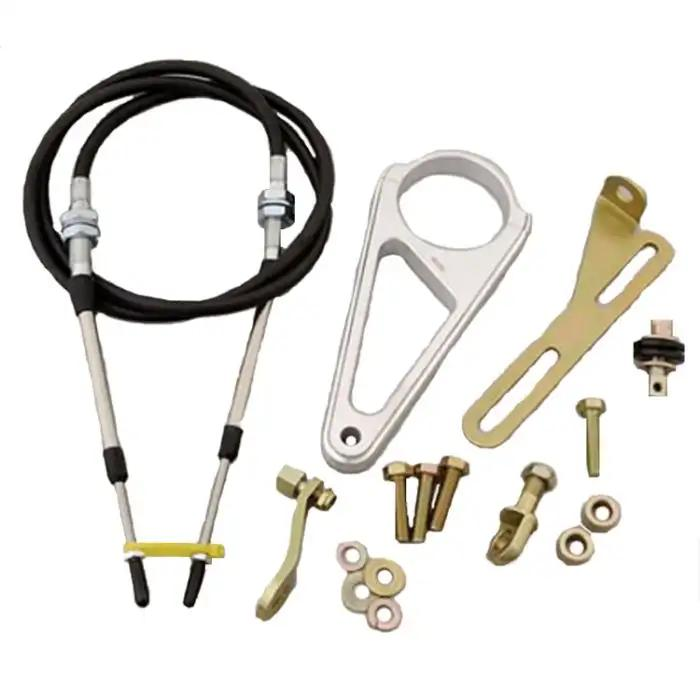 Ecklers Premier Quality Products 40169992 Full Size Chevy Column Shift Linkage Clevis /& Swivel Kit