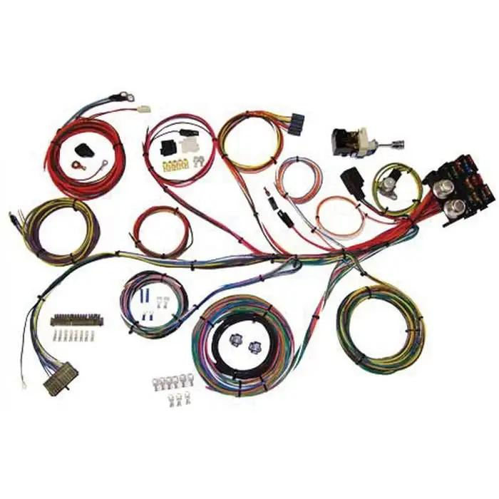 chevy wiring harness kit, power plus 13, 1949-1954  eckler's classic chevy